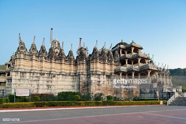 ranakpur jain temple, rajasthan, india - monument stock pictures, royalty-free photos & images