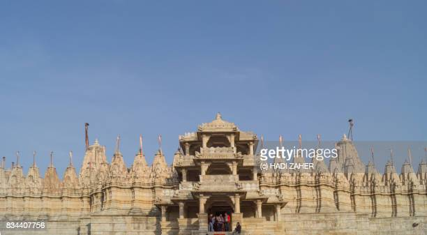 ranakpur jain temple | rajasthan | india - ranakpur temple stock photos and pictures