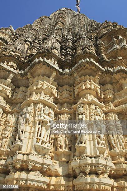 ranakpur temple - ranakpur temple stock photos and pictures