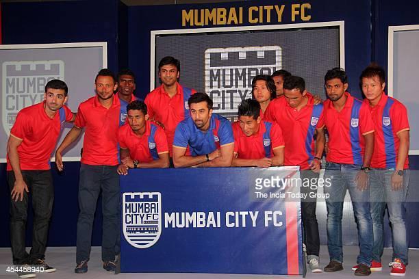 Ranbir Kapoor at the launch of Mumbai franchise of the Indian Super League called Mumbai City Football Club
