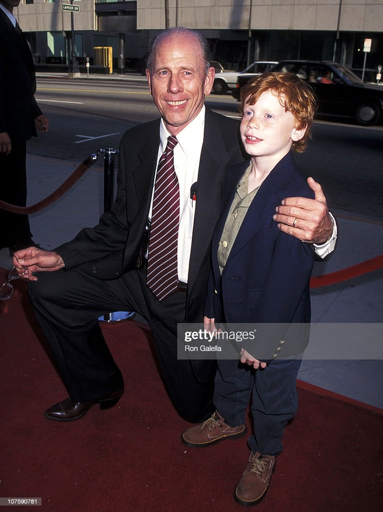 Rance Howard and grandson Reed Howard