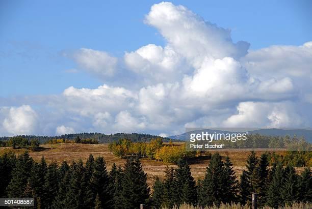 Ranch bei Calgary, Alberta, Kanada, Nordamerika, Berge, Reise, BB, DIG; P.-Nr. 1379/2007, ;