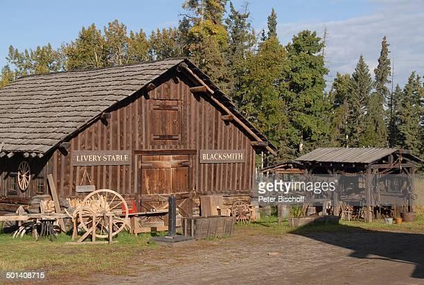 Ranch bei Calgary, Alberta, Kanada, Nordamerika, Reise, BB, DIG; P.-Nr. 1379/2007, ;