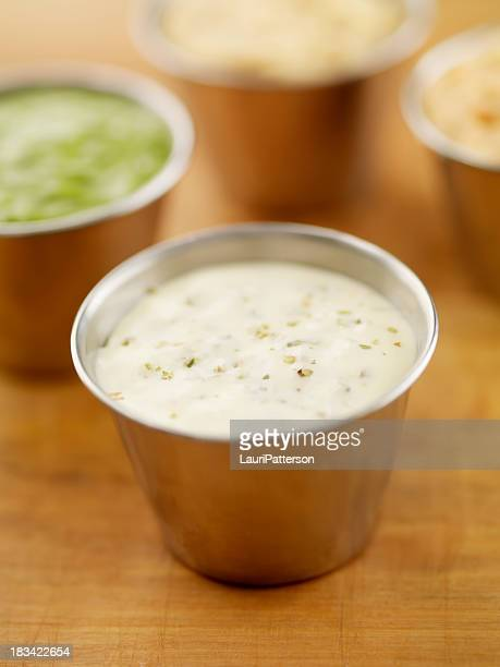 ranch dip - salad dressing stock pictures, royalty-free photos & images