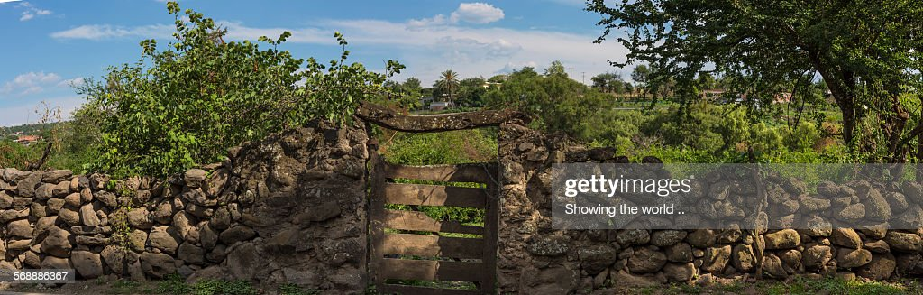 Ranch Gate : Stock Photo