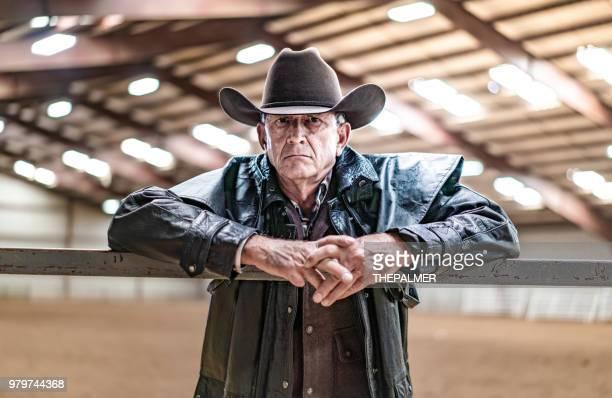 Ranch owner at his farm