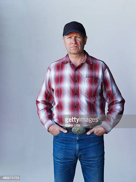 Rancher Farmer in baseball cap