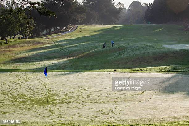 Rancho Park golf course golf courses and landscaping are a major user of water Los Angeles California