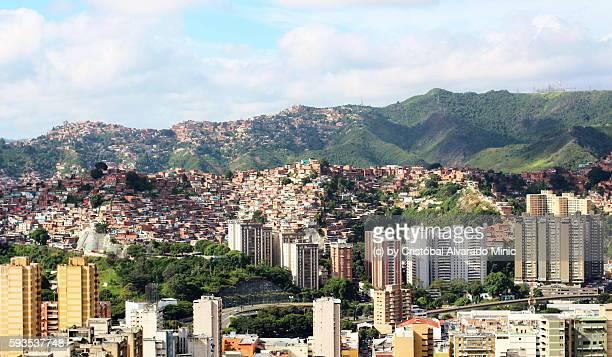 Ranchos And Moderns Buildings, Caracas, Venezuela