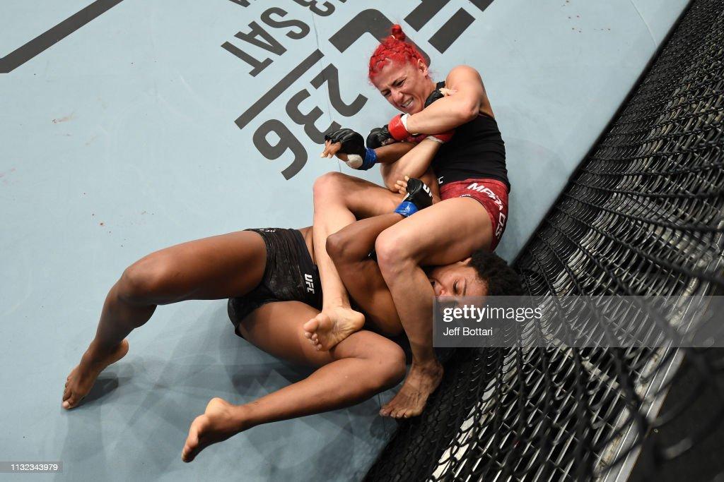 UFC Fight Night: Markos v Hill : News Photo