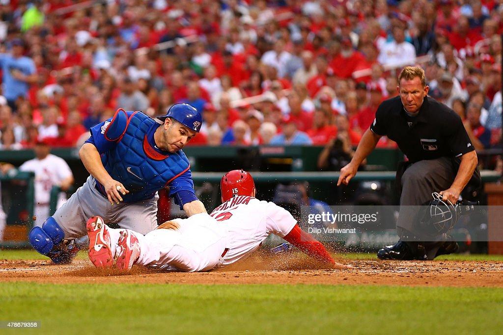 Chicago Cubs v St Louis Cardinals : News Photo