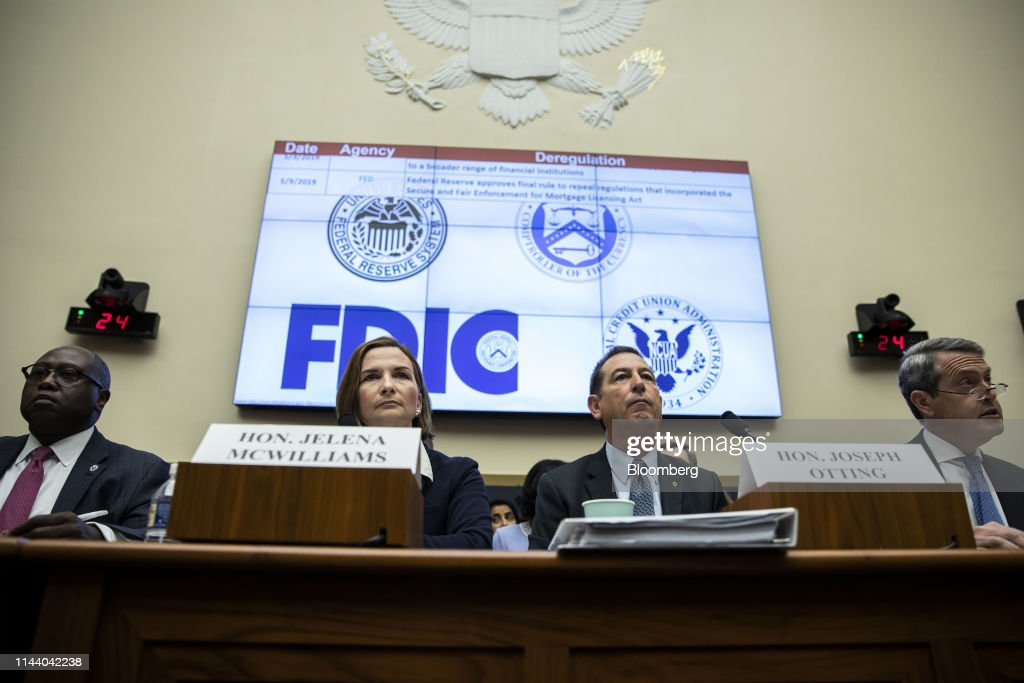 House Financial Services Committee Hearing On Accountability Of Megabanks And Other Depository Institutions : News Photo