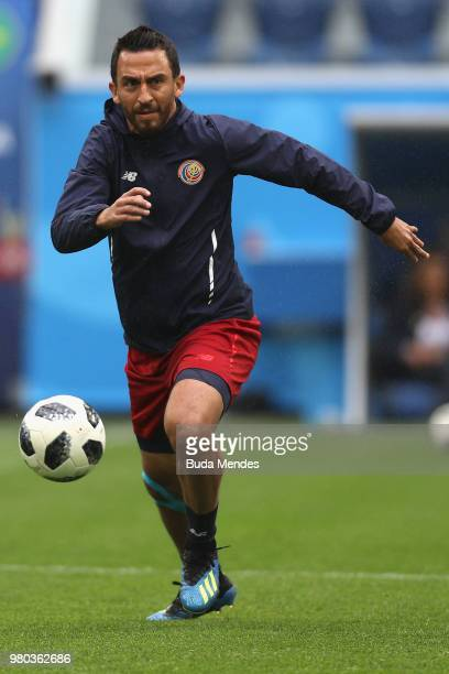 Keylor Navas of Costa Rica national team during a Costa Rica national team training session during the FIFA World Cup 2018 on June 21 2018 at Saint...