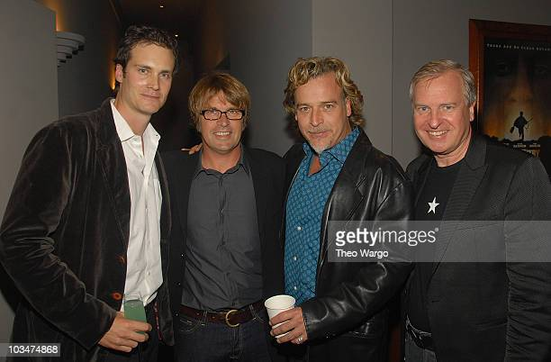 Randall Batinkoff Director Allan White Billy Marti and Producer Jerry Wayne attend the 'Broken' New York City Premiere screening in New York City on...