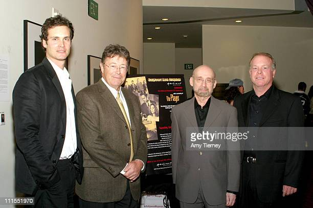 Randall Batinkoff Robert J Dowling Editor in Chief and Publisher of The Hollywood Reporter Director Arthur Allan Seidelman and John Culton