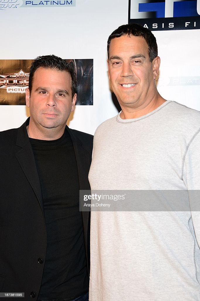 Randall Emmett and George Furla attend the Emmett/Furla/Oasis Films hosts celebration for the upcoming production of 'Tupac' at Zanzibar on November 7, 2013 in Santa Monica, California.