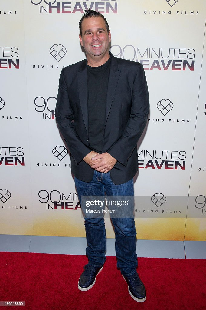 Randall Emmett attends '90 Minutes In Heaven' Atlanta premiere at Fox Theater on September 1, 2015 in Atlanta, Georgia.