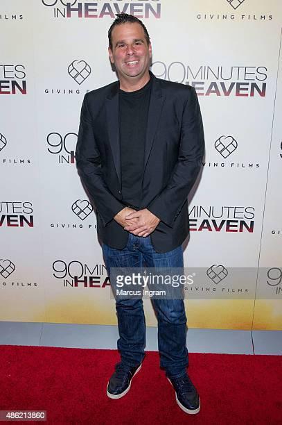 Randall Emmett attends '90 Minutes In Heaven' Atlanta premiere at Fox Theater on September 1 2015 in Atlanta Georgia