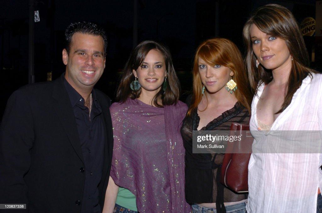 Randall Emmett, producer, Rachel Specter, Audrey Alison and Stephanie Berg at the Renaissance Hotel