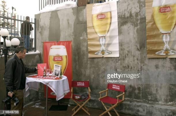 Randall Michelson photographs Stella Artois at the Sundance House