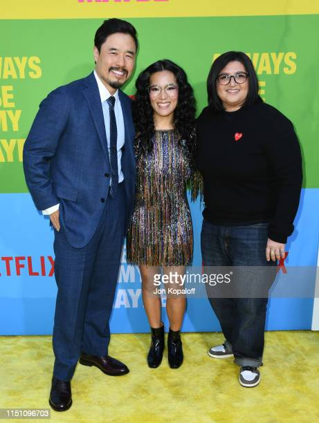 Randall Park Ali Wong and Nahnatchka Khan attend the Premiere Of Netflix's Always Be My Maybe at Regency Village Theatre on May 22 2019 in Westwood...