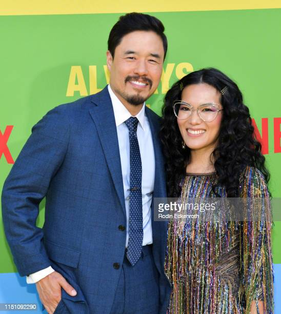 Randall Park and Ali Wong attend the premiere of Netflix's Always Be My Maybe at Regency Village Theatre on May 22 2019 in Westwood California