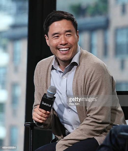 Randall Park attends AOL BUILD Speaker SeriesFresh Off The Boat at AOL Studios In New York on September 21 2015 in New York City