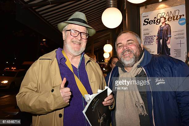 Randall Price and Olivier Malnuit from Grands Seigneurs attend Apero Milk Hosted by Grand Seigneurs Culinary Magazine at Bistrot le Marguerite on...
