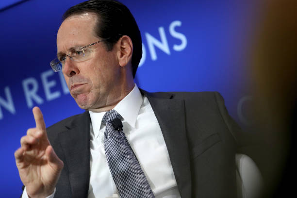 DC: The Council on Foreign Relations Holds A Discussion With AT&T CEO Randall Stephenson