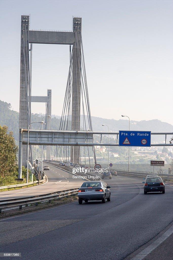 Rande bridge : Foto stock