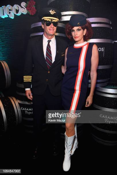 Rande Gerber and Cindy Crawford attend Casamigos Halloween party at CATCH Las Vegas at ARIA Resort Casino on October 27 2018 in Las Vegas Nevada