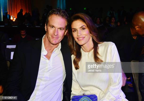 Rande Gerber and Cindy Crawford attend Sugar Ray Leonard Foundation's 10th Annual 'Big Fighters Big Cause' Charity Boxing Night Presented by B Riley...