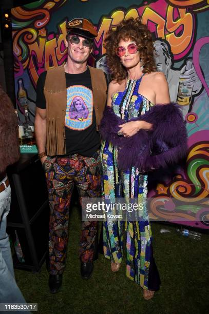 Rande Gerber and Cindy Crawford attend the 2019 Casamigos Halloween Party on October 25 2019 at a private residence in Beverly Hills California