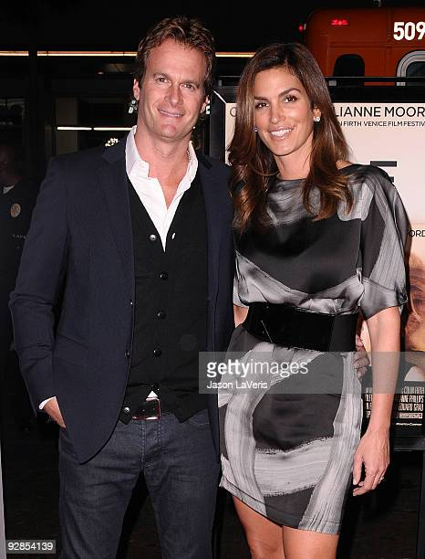 Rande Gerber and Cindy Crawford attend the AFI Fest 2009 premiere of A Single Man at Grauman's Chinese Theatre on November 5 2009 in Hollywood...