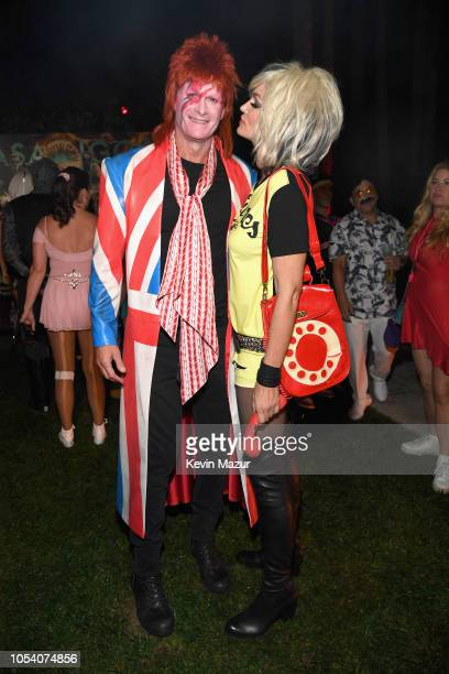 Rande Gerber and Cindy Crawford attend the Casamigos Halloween Party on October 26, 2018 in Beverly Hills, California.