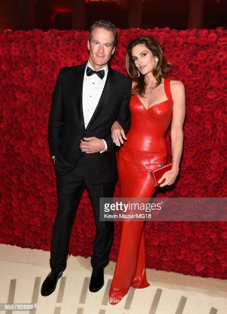 Rande Gerber and Cindy Crawford attend the Heavenly Bodies Fashion The Catholic Imagination Costume Institute Gala at The Metropolitan Museum of Art...