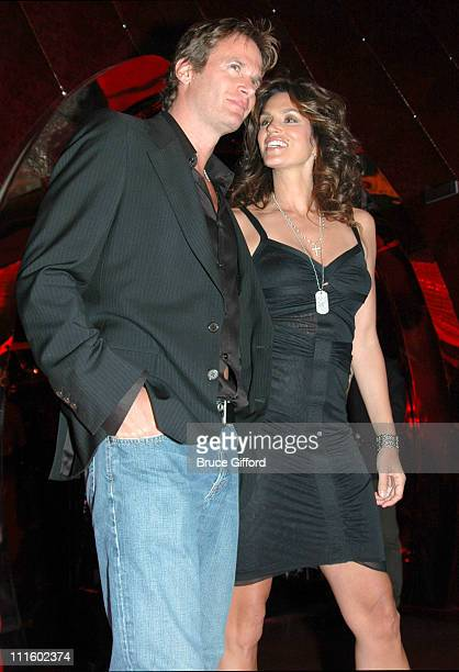 Rande Gerber and Cindy Crawford during Grand Opening of Cherry Nightclub in Las Vegas April 22 2006 at Red Rock Casino Resort and Spa in Las Vegas...