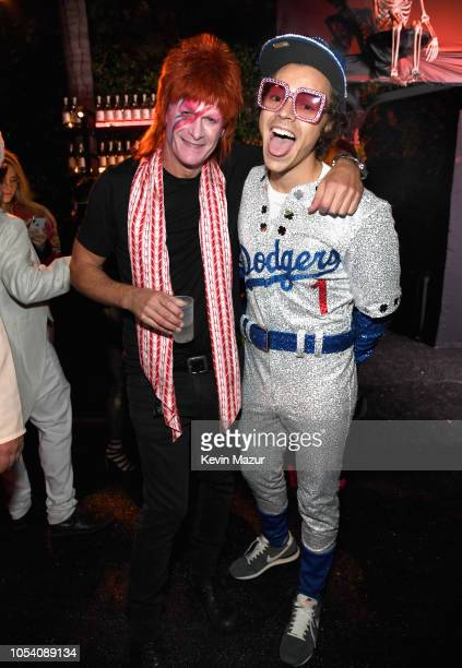 Rande Gerber and Harry Styles attend the Casamigos Halloween Party on October 26 2018 in Beverly Hills California