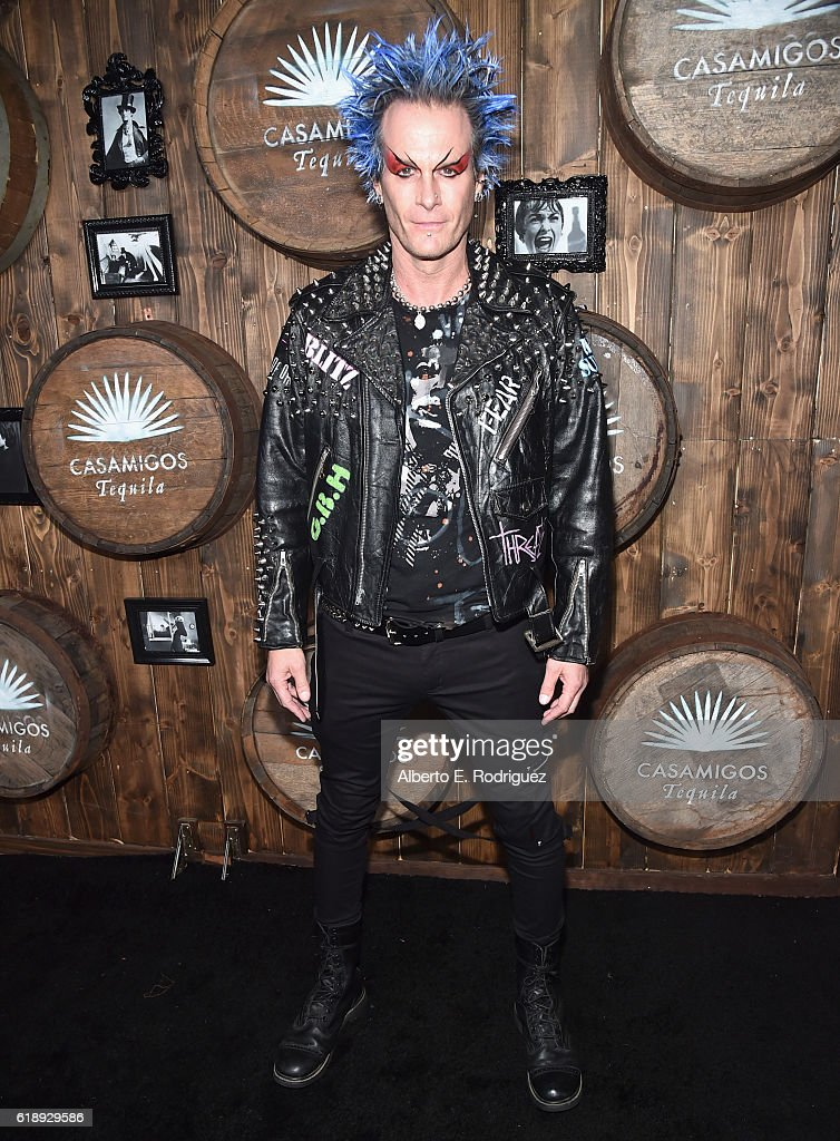 Rande Gerber arrives to the Casamigos Halloween Party at a private residence on October 28, 2016 in Beverly Hills, California.