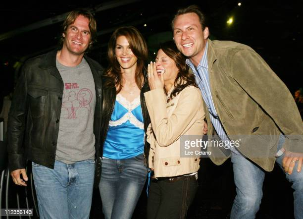 Rande Gereber Cindy Crawford Ryan Haddon and Christian Slater