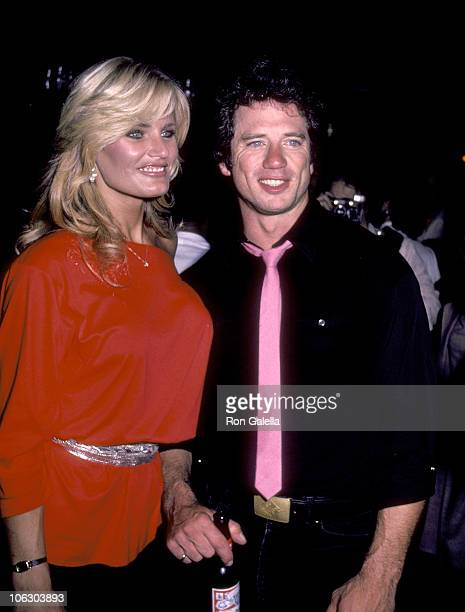Randi Brooks and Tom Wopat during Tom Wopat in Concert June 20 1983 at Lone Star Cafe in New York City New York United States