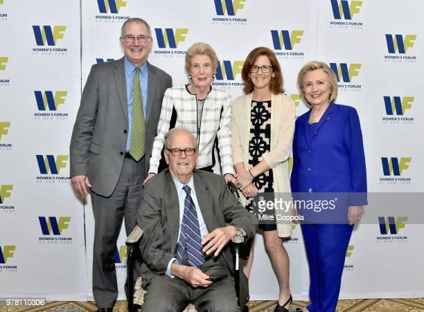 Randi Guggenheimer III Jane Guggenheimer Julia Guggenheimer Hillary Clinton and Randi Guggenheimer Jr attend the 8th Annual Elly Awards hosted by the...
