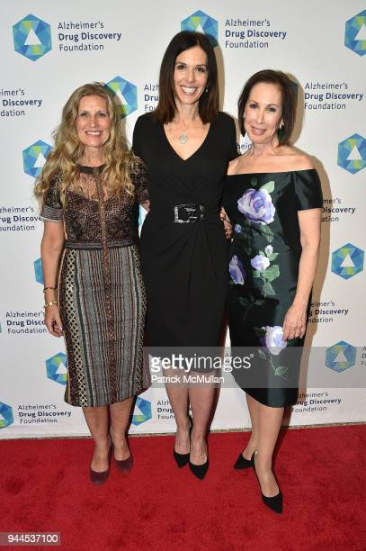 Randi Klimberg Kelly Grunther and Andrea Lomasky attend the Alzheimer's Drug Discovery Foundation's Memories Matter at Pier 60 Chelsea Piers on April...