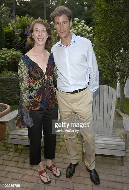 Randi MacColl associate publisher of Architectural Digest and Francois Kress Managing Director of Bvlgari