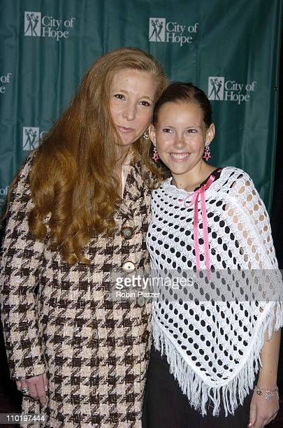 Randi Rahm and Lacey Conlan during Cindy Crawford Honored as City of Hope's Woman of The Year at the 2004 Spirit of Life Luncheon at The...