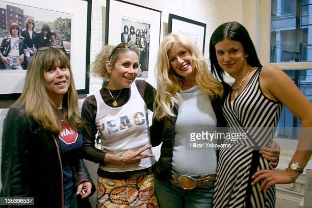 Randi Rhodes of Air America Radio Annie Nelson Susan Hathaway and Jessica Blachley