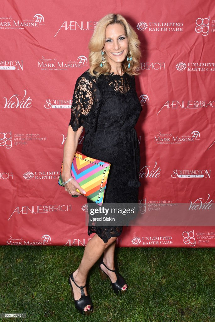 Randi Schatz attends AVENUE on the Beach's Summer Soiree at The Baker House on August 12, 2017 in East Hampton, New York.