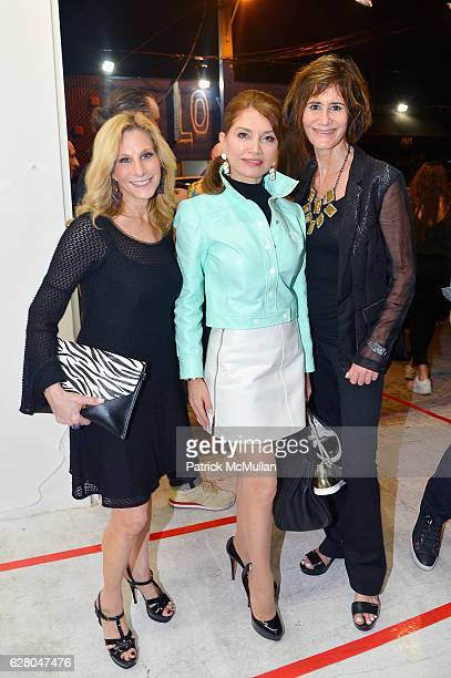 Randi Schatz Jean Shafiroff and Lee Fryd attend the Patricia Field Art Basel Debut with Art Fashion Pop Up and Runway Presentation at The White Dot...