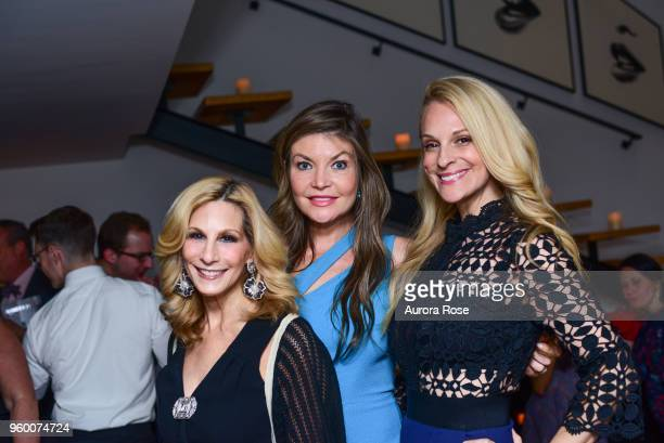 Randi Schatz Nicole Noonan and Consuelo Vanderbilt Costin attend Charles James Portrait Of An Unreasonable Man Fame Fashion Art By Michele Gerber...