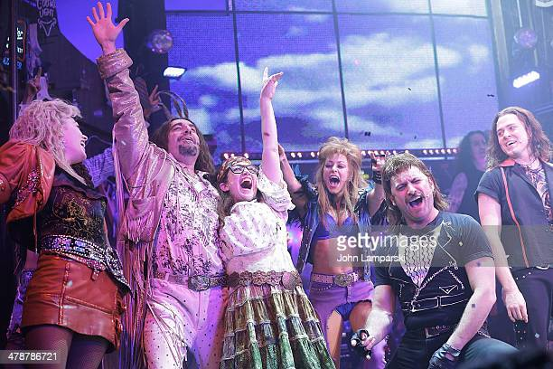 Randi Zuckerberg Joins The Cast Of Broadway's Rock Of Ages at Helen Hayes Theatre on March 14 2014 in New York City